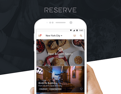 Restaurant Reservation Booking App | Android | UX, UI