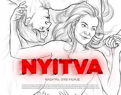 NYITVA Nagypál Orsi filmje Plakát: Kenczler Márton