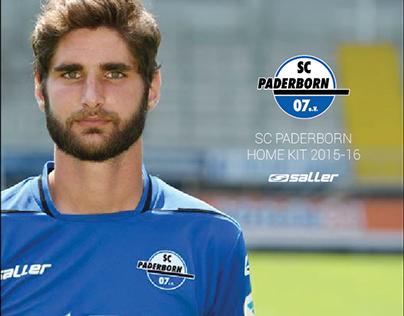 SC Paderborn Home Kit 2015-16