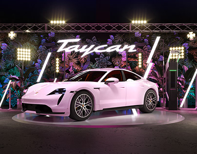 Taycan Turbo launch Livestream(concept Ver.)