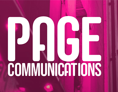 Re-branding for Page Communications Agency