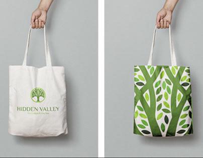 Hidden Valley Spa // Brand Design