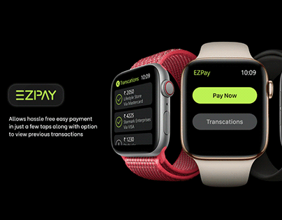 EZPay: Payment App for Apple Watch