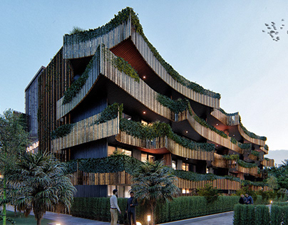 Amira District in Tulum by DNA Barcelona Architects
