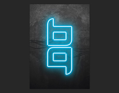 Personal branding - neon
