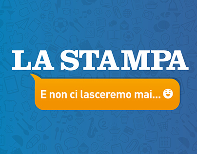 La Stampa — Keep In Touch