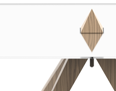 Pyramidal table