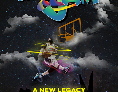 Space Jam: A New Legacy Mockup