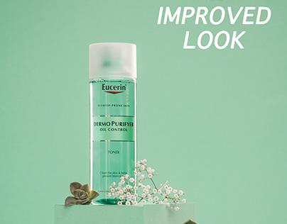 Eucerin skincare Product Photography