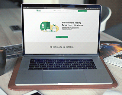 Moving Company Website Redesign