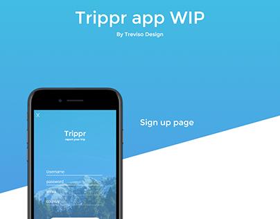 Trippr app (WIP)