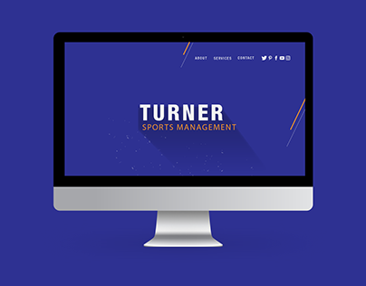 Turner Sports Management - Brand Design