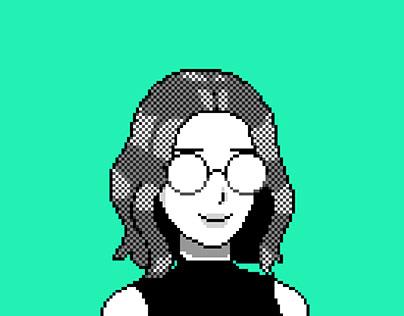pixel animated userpic