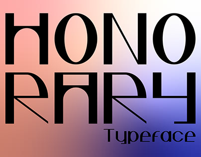 Honorary Typeface