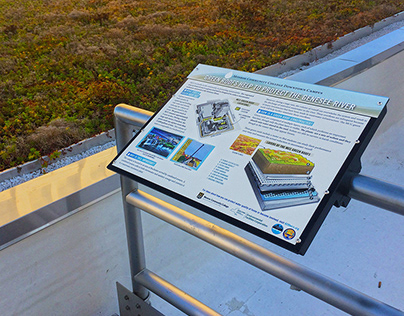 Green Roofs Sign