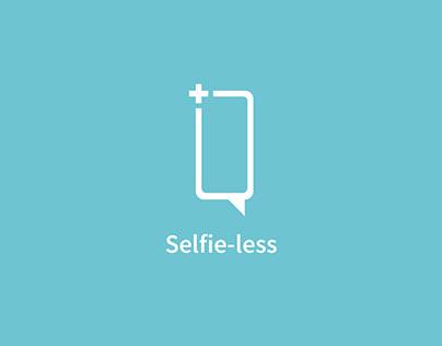Selfie-less | Branding