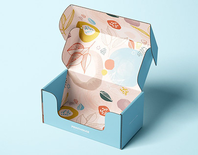 Tuck Mailer Box Mockup