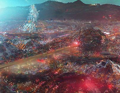 The Slums of Mega-City One