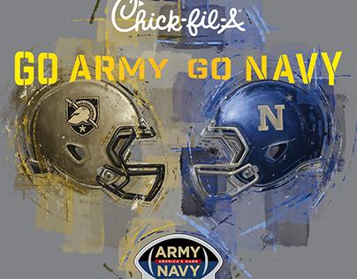 Army / Navy Football 2018 - Key Illustrations
