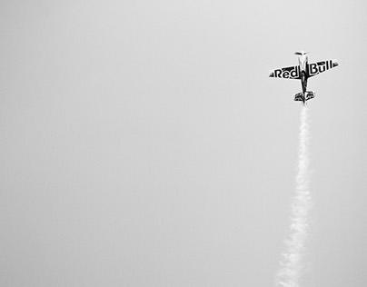Pete McLeod Red Bull Plane