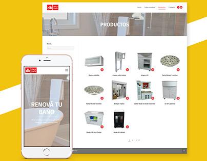 Deco Baño | WordPress web design