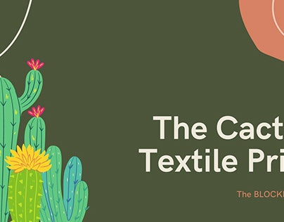 """"""" THE CACTI """" PRINT DESIGN PROJECT"""