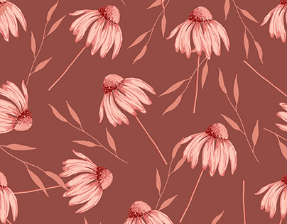Wildflower Floral Pattern