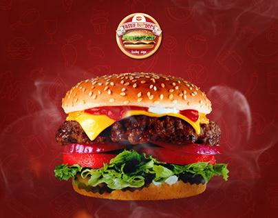 Burger - Motion graphic