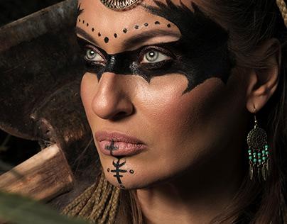 Freya Viking style