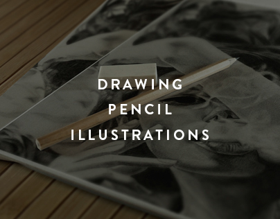 Drawing pencil illustrations