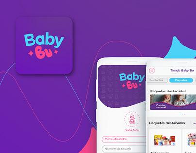 Baby Bu UX/UI app