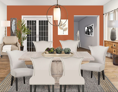 Dining Room Project: Refined Rustic