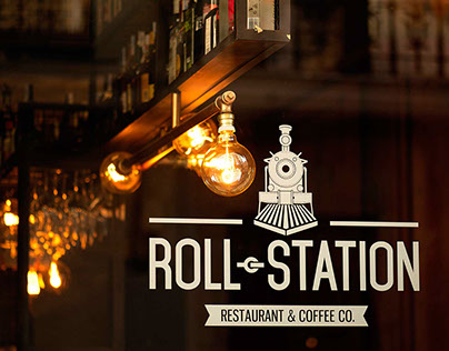 Roll Station · Restaurant & Coffee Co.