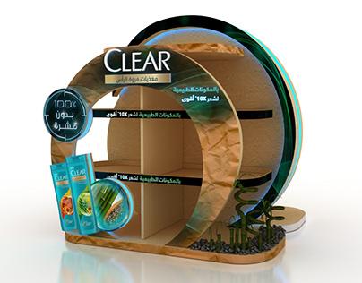 Clear & sunsilk floor display