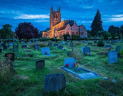 Long Melford Church.