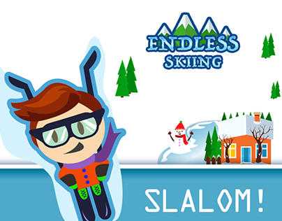 Endless Skiing / Game Design
