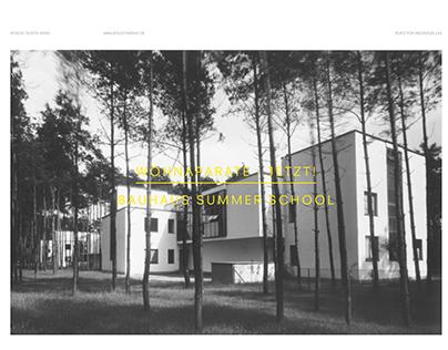 Bauhaus Living Machines