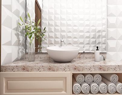 Contemporary Bathroom Proposal