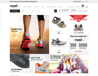 Footwear e-Commerce Website