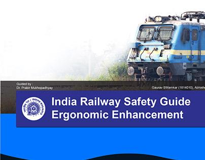 Indian Railway Safety Guide Ergonomic Enhancement