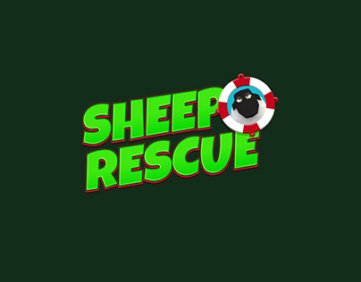 Sheep Rescue Game Logo
