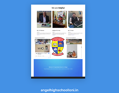 Website for Angel Highschool