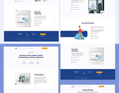 UI Design / Hoxton Analytics