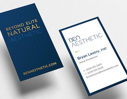 BEN Aesthetic Brand Experience