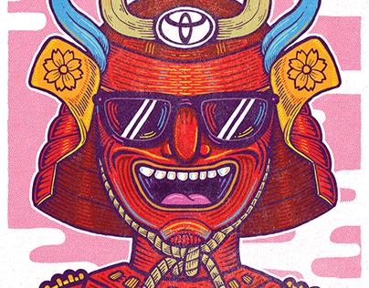 Toyota Poster