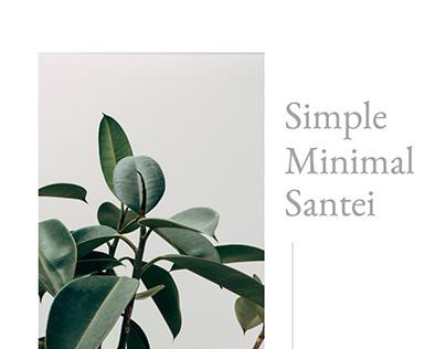 Santei Simple Presentation Template