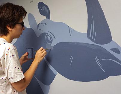 murals for Detsky Mir