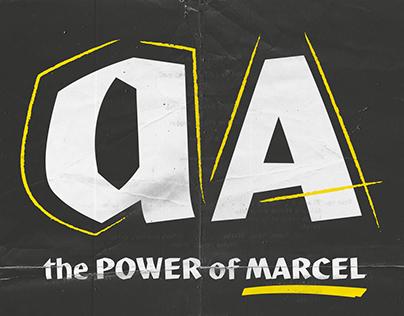 Marcel typeface