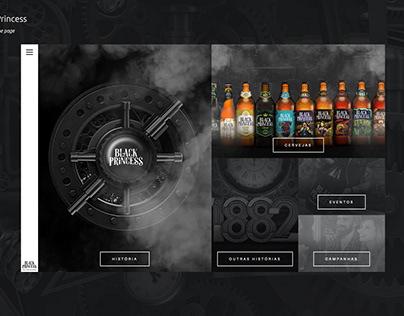 Website: Cerveja Black Princess