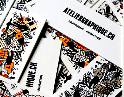 Mini cartes Atelier Graphique